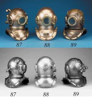 A 12-bolt diving helmet by Sie