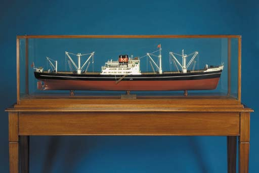 A builder's model of the cargo