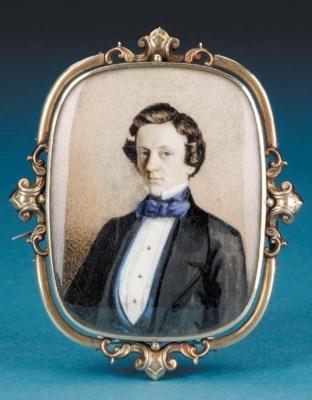 A minature portrait of Captain