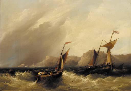 Frederick Calvert (fl.1828-184