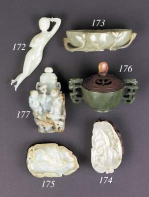 A white jade doctor's model 19