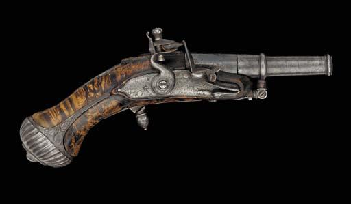 A Fine 100-Bore Rifled Flintlo
