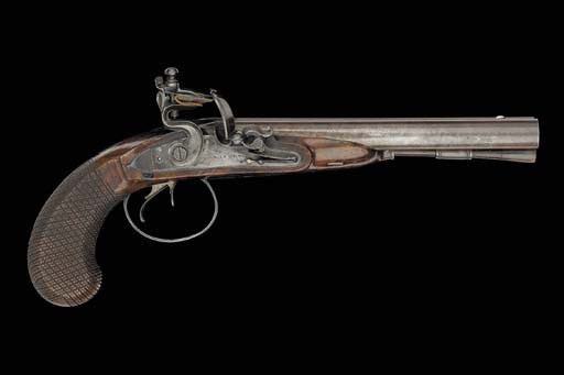 A Fine 30-Bore D.B. Flintlock