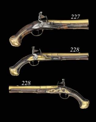 A Flintlock Blunderbuss-Pistol