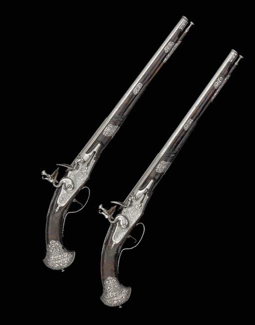 An Unusual Pair Of 30-Bore Bre