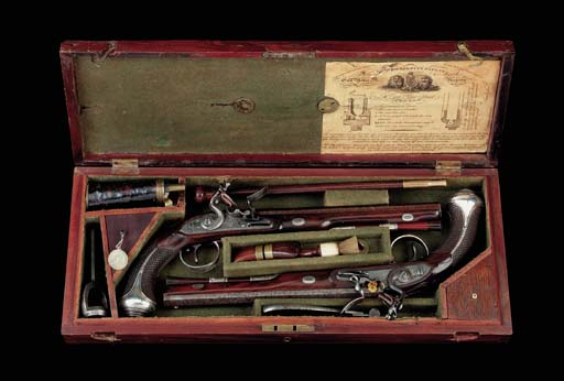 A Fine Cased Pair Of 28-Bore S