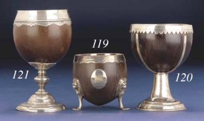 A GEORGE III COCONUT CUP