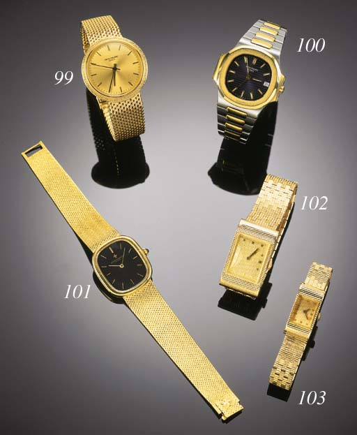 VACHERON & CONSTANTIN, AN 18ct. GOLD WRISTWATCH circa 1980.