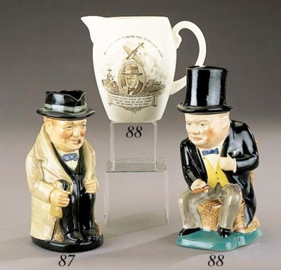 A Royal Doulton character jug