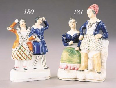 A pen holder group of Fenella