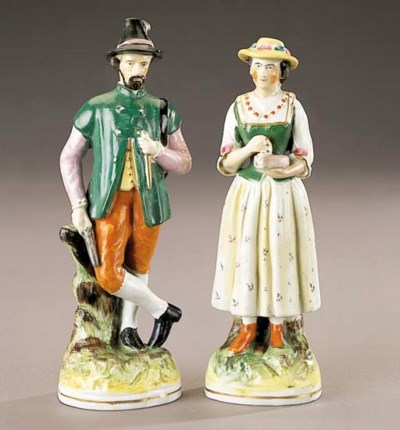 A pair of a man and woman in T