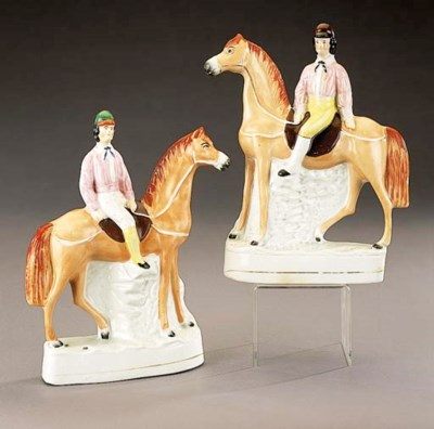 Two models of jockeys