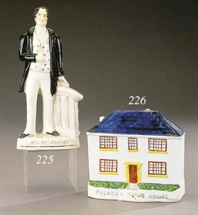 A model of Palmer's house