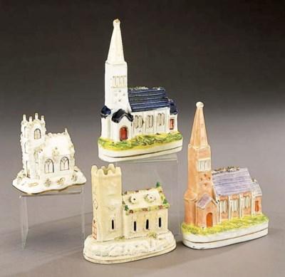 A model of a church