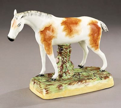A model of a horse