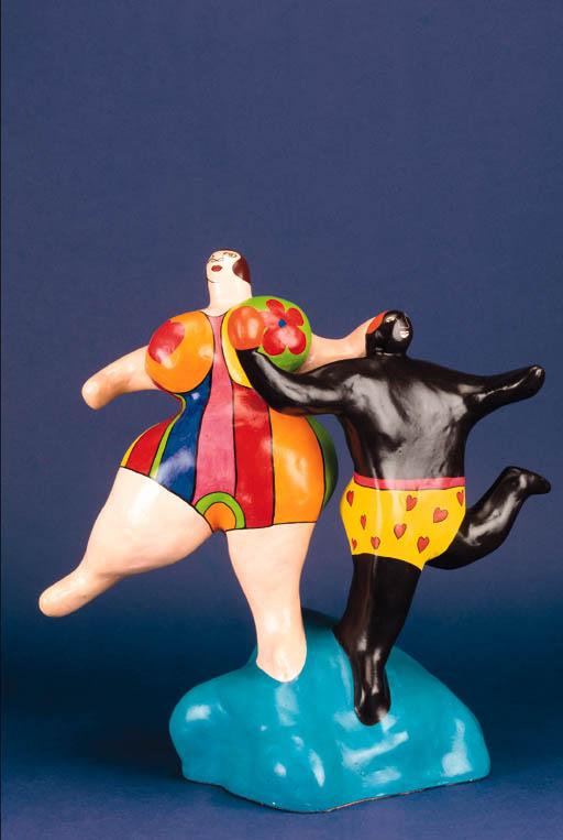 Niki de Saint-Phalle (b.1930)