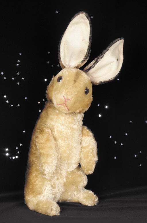 A large Steiff Rabbit
