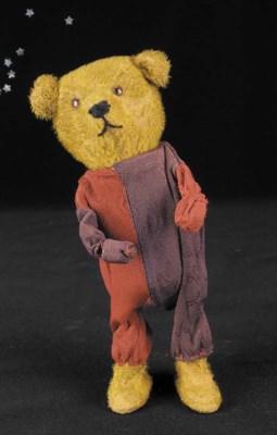 An unusual clockwork teddy bea