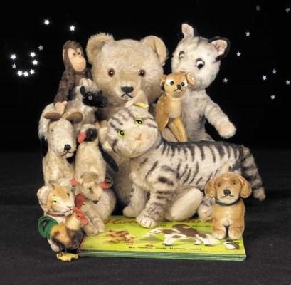 Hermann teddy bear, Steiff ani