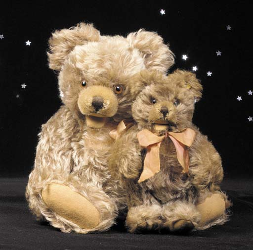 A Steiff Zotty bear