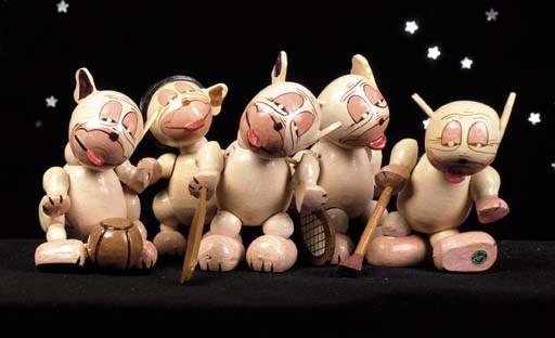 Anri wooden Bonzo's