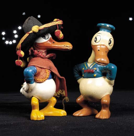 A Knickerbocker Donald Duck