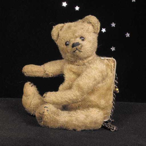 A rare purse teddy bear