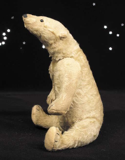A rare Steiff Polar bear