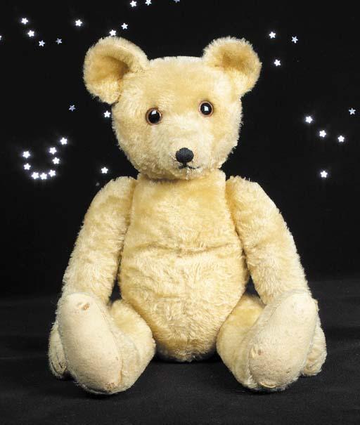 A rare JoPi musical teddy bear