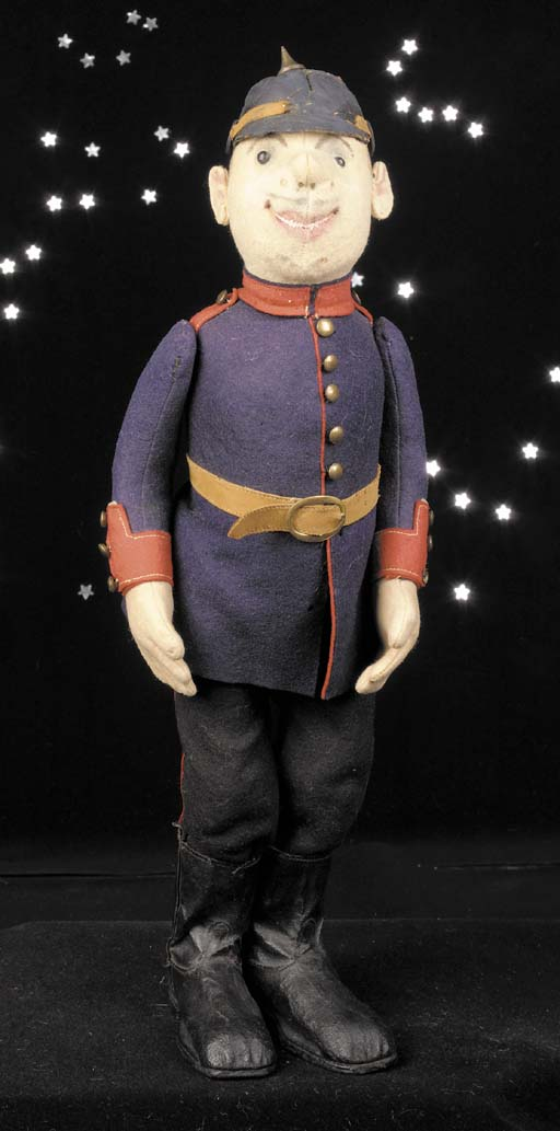 A Steiff German Infantryman