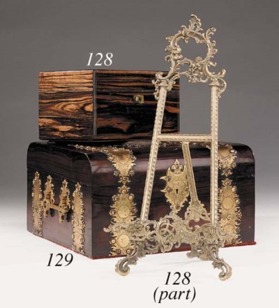 A Victorian rosewood and gilt