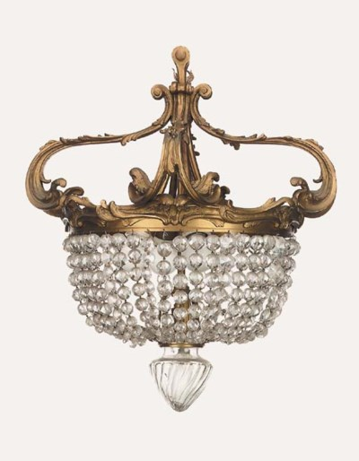A French gilt bronze and mould