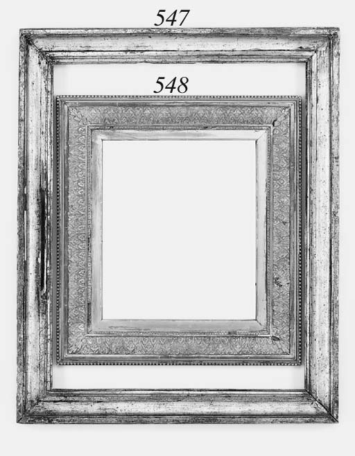 An Italian silvered moulding f