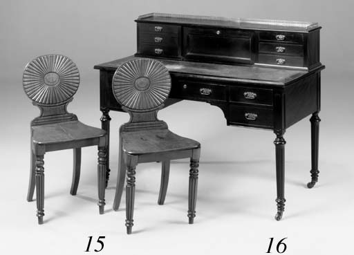 A pair of early Victorian maho