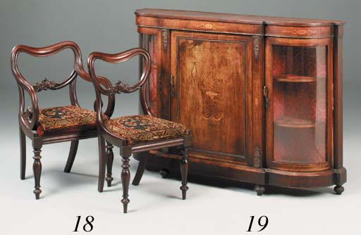 A set of seven early Victorian