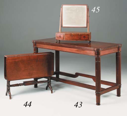 A mahogany serving table, earl