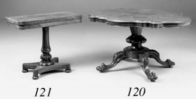 A Victorian rosewood and simul