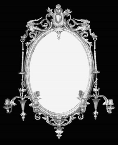 A Victorian gilt composition g
