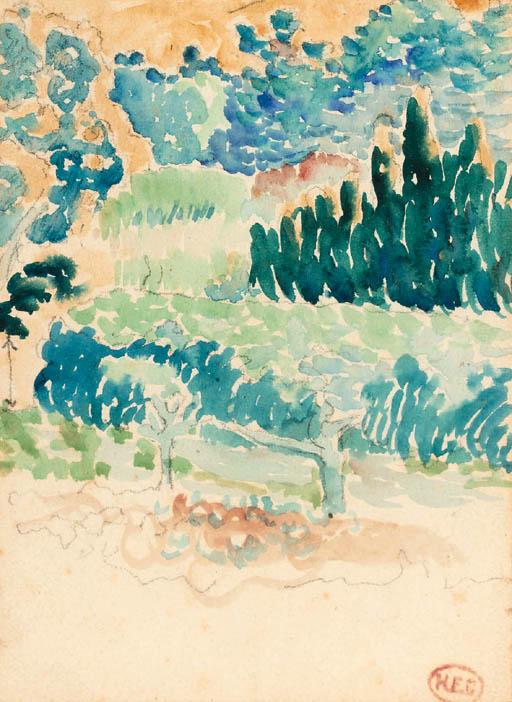 Henri Edmond Cross (French, 18