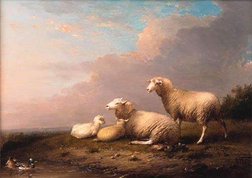 Franz van Severdonck (Belgian, 1809-1889)