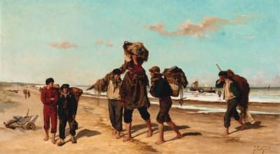 Felix Cogen (Belgian, b.1838)