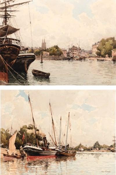 Paul Lecomte (French, 1842-192