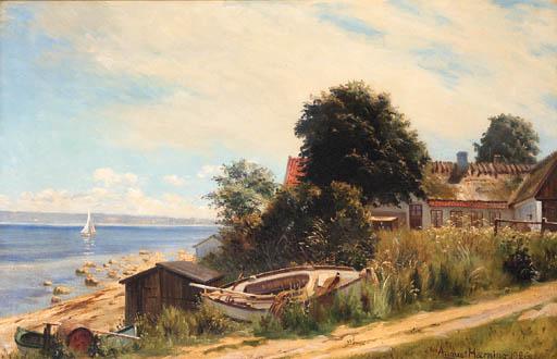 August Haerning (Danish, 19th