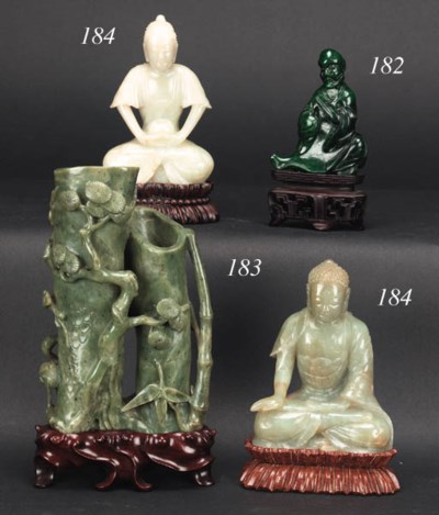 A selection of Chinese jade an