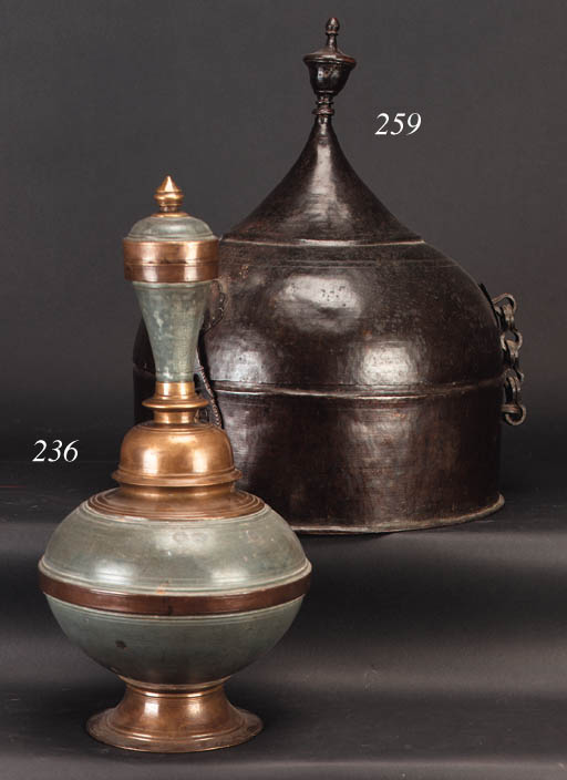 An Indian heavily patinated br