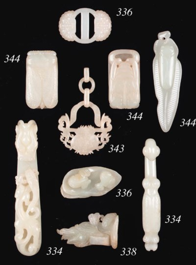 A selection of Chinese jade ca