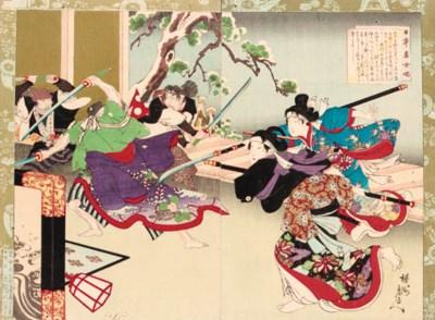 Kitagawa Chikanobu 19th centur