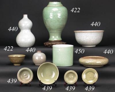 A longquan footed bowl Yuan Dy