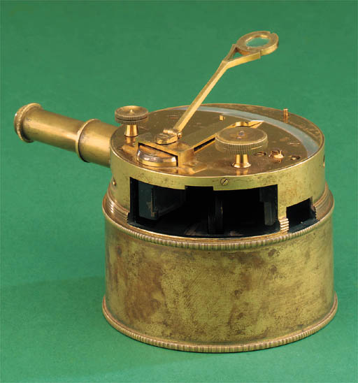 A 19th-Century lacquered-brass