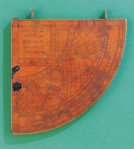 A late 17th-Century boxwood qu